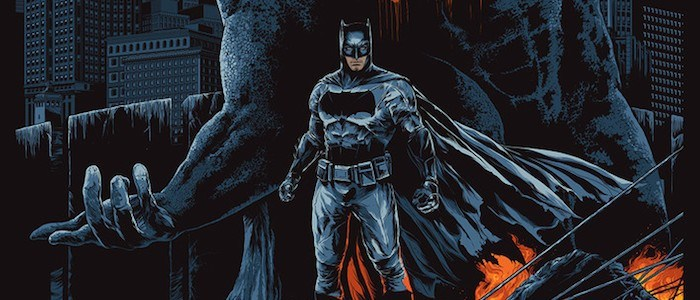 Mondo Reveals 'Batman v Superman: Dawn of Justice' Poster From Ken Taylor-media-1