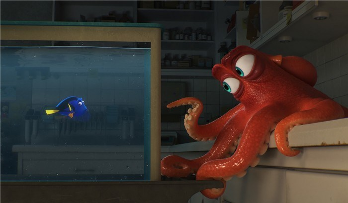 Finding Dory - dory after dark