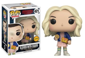 Stranger Things Funko Pop Vinyl - Eleven with wig