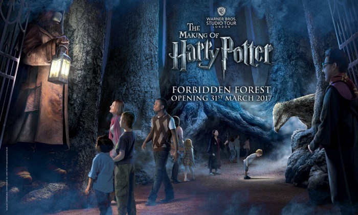 Harry Potter Studio Tour Forbidden Forest Expansion