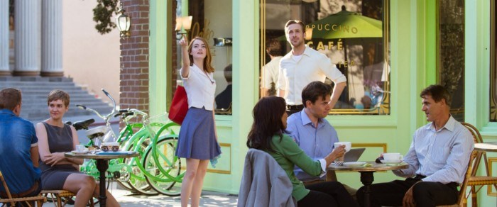 la la land set on the warner bros studio tour