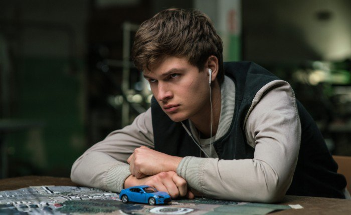 Baby Driver - Baby (Ansel Elgort) with map
