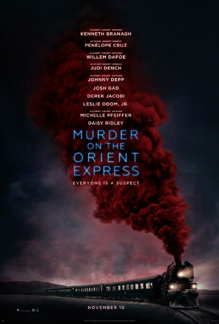 Murder on the Orient Express poster 1