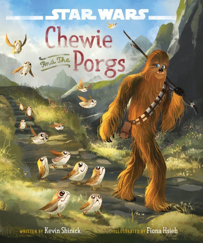 Chewie and the Porgs book cover