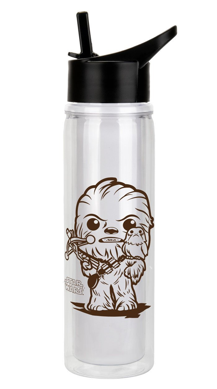 Porg water bottle Chewie