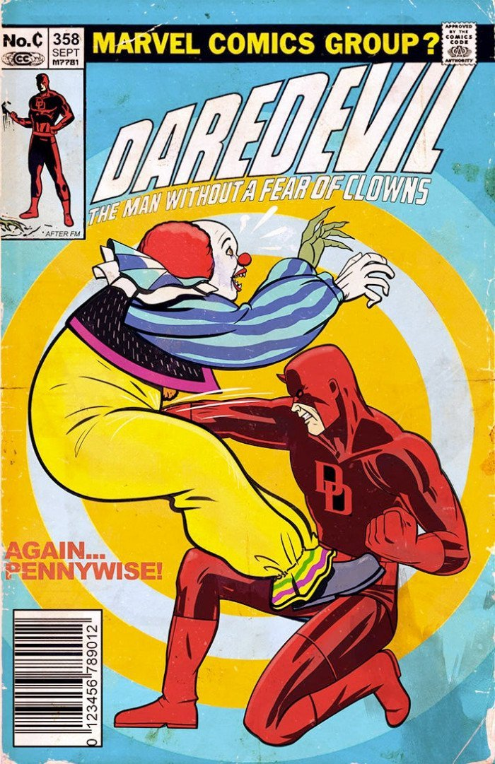 Daredevil Meets It