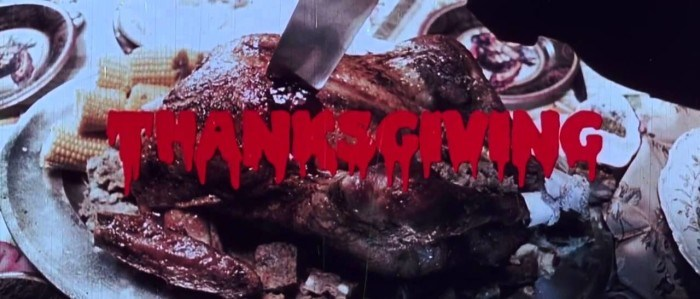 thanksgiving horror movies