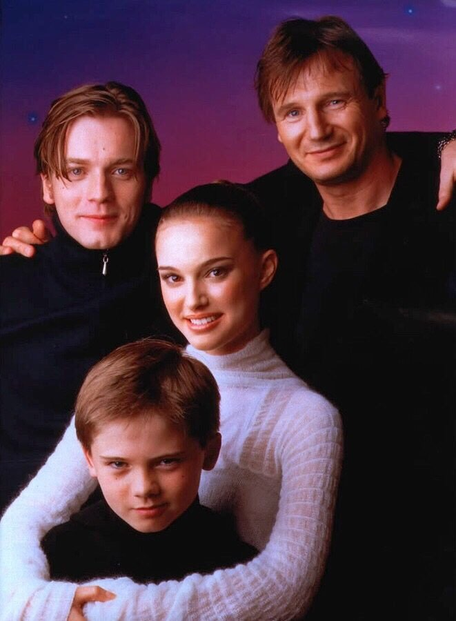 phantom menace cast photo reddit