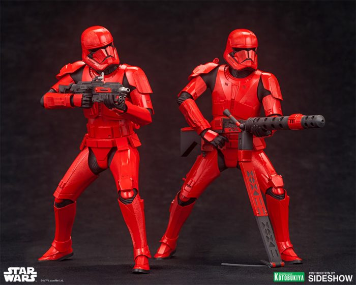 Sith Troopers Sideshow Collectibles